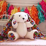 Куклы и игрушки ручной работы. Ярмарка Мастеров - ручная работа Детская мягкая игрушка Заяц. Handmade.
