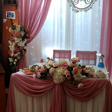Свадебный салон ручной работы. Ярмарка Мастеров - ручная работа Оформление зала. Handmade.