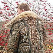 """Одежда ручной работы. Ярмарка Мастеров - ручная работа Скидка 20 %  на зимнее пальто """"Серый волк"""".. Handmade."""