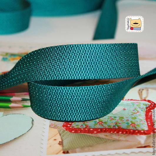 Шитье ручной работы. Ярмарка Мастеров - ручная работа. Купить Ременная лента 25мм (стропа) морская волна (ЛР2-МВ) облегчённая. Handmade.