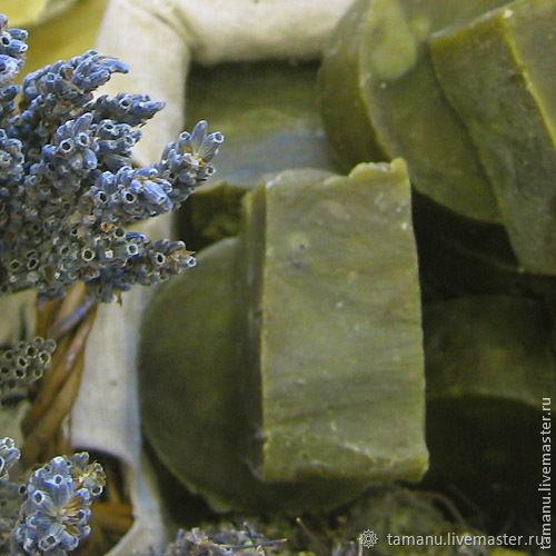 """Мыло-шампунь: Крапива, конопля, иланг.100% натуральное мыло """"с нуля"""", Мыло, Санкт-Петербург,  Фото №1"""