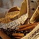 Корзины, коробы ручной работы. Ярмарка Мастеров - ручная работа. Купить Мешки из 100% льна тонированного кофе для украшений конфет сухариков м. Handmade.