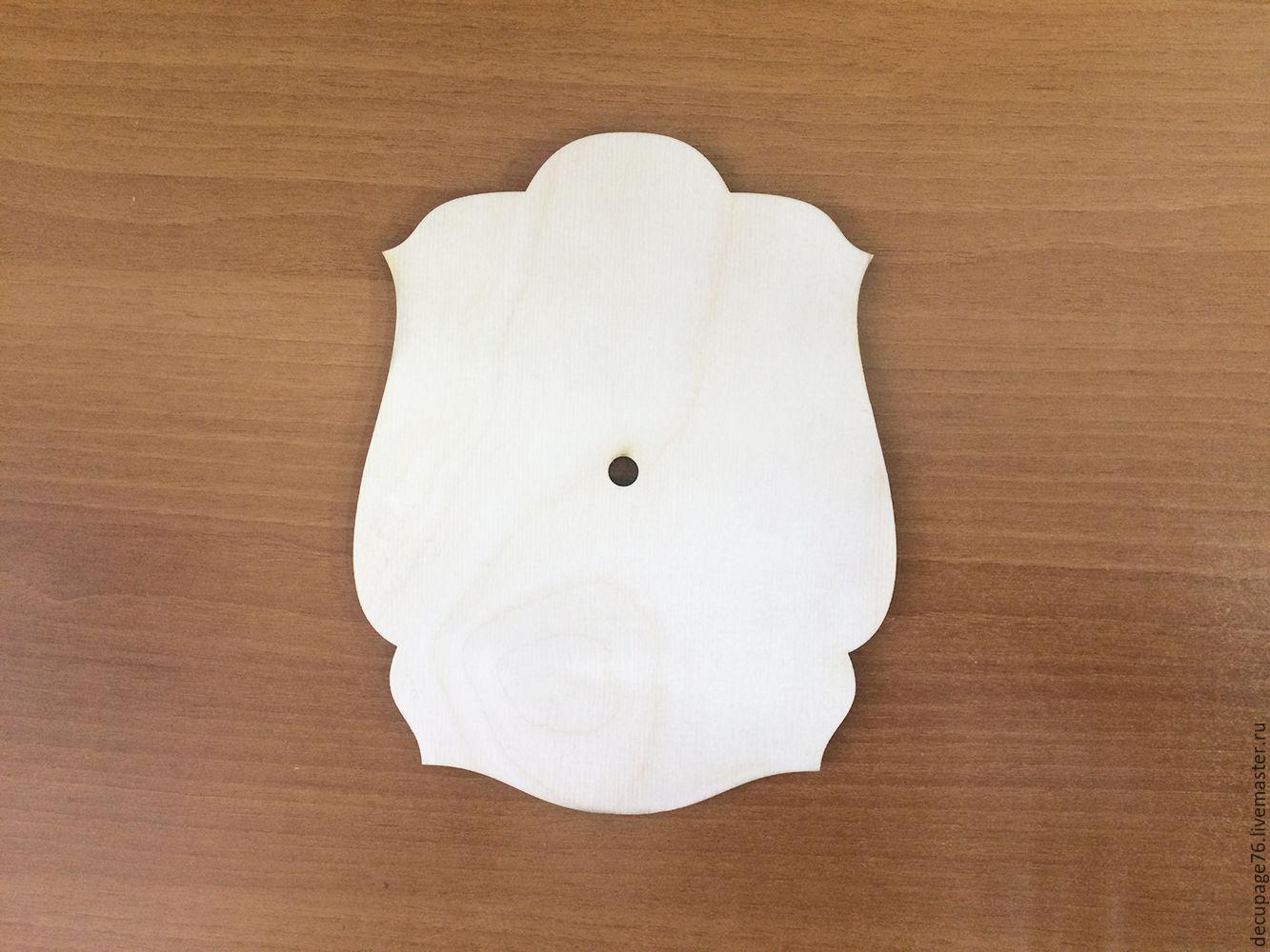 Часы `Фигурные` Не комплектуются фурнитурой Часовой механизм не прилагается Размер: 16х20 см Размер отверстия под ч/м - 8,5 мм