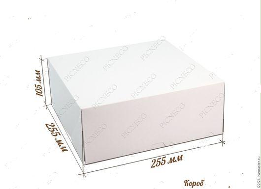 Упаковка ручной работы. Ярмарка Мастеров - ручная работа. Купить Коробка белая без окошка. Handmade. Белый, коробочка