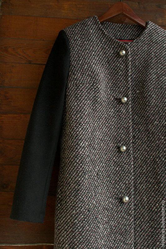 """Верхняя одежда ручной работы. Ярмарка Мастеров - ручная работа. Купить Пальто """"Японское"""".. Handmade. Комбинированный, шерсть"""