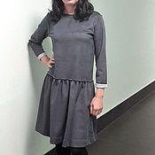 Одежда ручной работы. Ярмарка Мастеров - ручная работа Платье из замши.. Handmade.