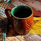 """Посуда ручной работы. Ярмарка Мастеров - ручная работа Кружка """"Медовое дерево"""". Handmade."""