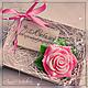 """Мыло ручной работы. Подарок воспитателю """"Мыльный набор с розой"""". Намыливайся с нами! (Анна). Интернет-магазин Ярмарка Мастеров. учитель"""