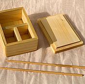 Посуда ручной работы. Ярмарка Мастеров - ручная работа бокс для суши. Handmade.
