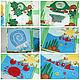 Развивающие игрушки ручной работы. Заказать Развивающая книга для малышей от 6 месяцев и до.... Творческая мастерская  'Crazy mom'. Ярмарка Мастеров.