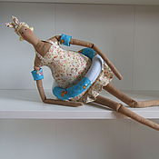 Куклы и игрушки ручной работы. Ярмарка Мастеров - ручная работа Толстушка - купальщица. Handmade.