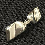 "Винтаж ручной работы. Ярмарка Мастеров - ручная работа Заколка ""LAZO"" 925 серебро. Handmade."