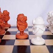 Куклы и игрушки handmade. Livemaster - original item Chess. Handmade. Minions. Handmade.