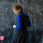 """Одежда ручной работы. Ярмарка Мастеров - ручная работа Сарафан для будущих мам """"Теплые ожидания"""". Handmade."""