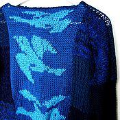"""Одежда ручной работы. Ярмарка Мастеров - ручная работа Джемпер """"Птицы"""". Handmade."""