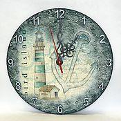 """Для дома и интерьера ручной работы. Ярмарка Мастеров - ручная работа Часы """"Маяк"""". Handmade."""
