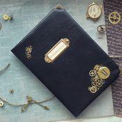 Канцелярские товары handmade. Livemaster - original item Notepad steampunk. Handmade.