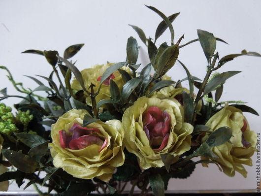 Другие виды рукоделия ручной работы. Ярмарка Мастеров - ручная работа. Купить Дв 311 Розы винтажные. Handmade.