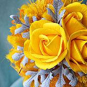"""Цветы и флористика ручной работы. Ярмарка Мастеров - ручная работа Топиарий """"SUN"""". Handmade."""