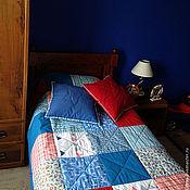 """Для дома и интерьера ручной работы. Ярмарка Мастеров - ручная работа Комплект текстиля """"Морской - 6"""" вар.2. Handmade."""