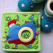 Куклы и игрушки ручной работы. Ярмарка Мастеров - ручная работа Книга развивающая Кораблик. Handmade.