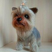 Куклы и игрушки handmade. Livemaster - original item Yorkshire Terrier. Handmade.