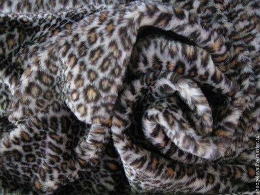 """Куклы и игрушки ручной работы. Ярмарка Мастеров - ручная работа. Купить Английский плюш """" леопард"""" 13мм.. Handmade."""