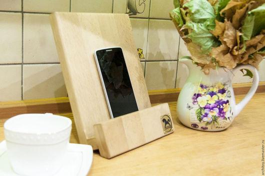 Мебель ручной работы. Ярмарка Мастеров - ручная работа. Купить Подставка под планшет. Handmade. Коричневый, авторская ручная работа