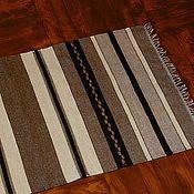 Для дома и интерьера ручной работы. Ярмарка Мастеров - ручная работа Домотканый коврик. Handmade.