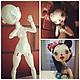 Коллекционные куклы ручной работы. Шарнирная кукла. Imaginarium. Интернет-магазин Ярмарка Мастеров. Фото №2