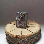 Украшения handmade. Livemaster - original item Citrine ring