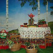 """Дизайн и реклама ручной работы. Ярмарка Мастеров - ручная работа фотозона  (лубок) интерактивная """"   Русский дом""""   аренда. Handmade."""