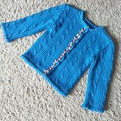 Одежда детская handmade. Livemaster - original item sweater knit knitting. Handmade.
