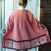 Одежда handmade. Livemaster - original item Paris cardigan ladies knitted. Handmade.