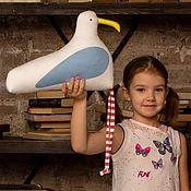 Куклы и игрушки handmade. Livemaster - original item Seagull 24cm x h33cm. Handmade.