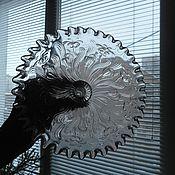 Винтаж ручной работы. Ярмарка Мастеров - ручная работа Конфетница на ножке ажурный край. Handmade.