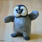 Felted Toy handmade. Livemaster - original item Felt toy Penguin. Handmade.