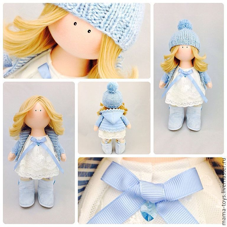 Мастер класс куклы снежки