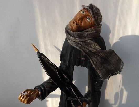 """Коллекционные куклы ручной работы. Ярмарка Мастеров - ручная работа. Купить Арт-кукла из дерева """"Первая скрипка дождя"""". Handmade."""