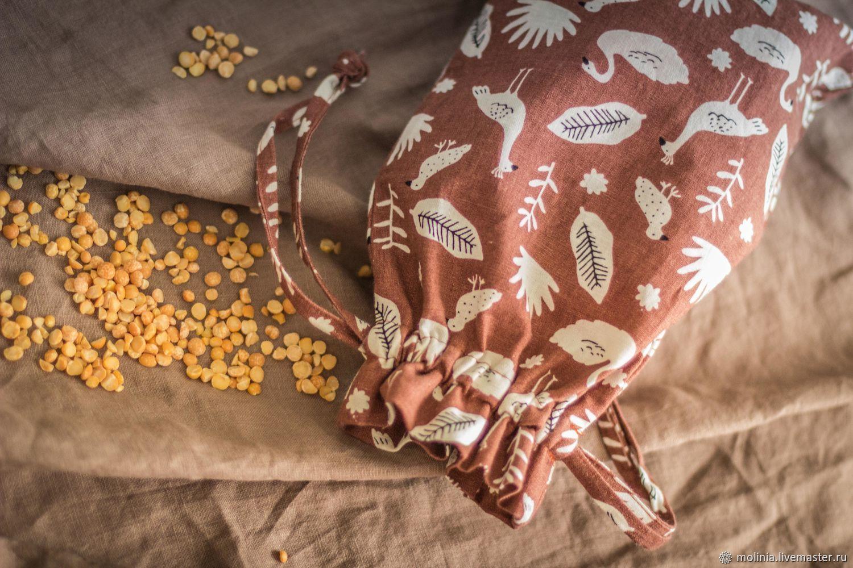 Bag, linen storage bag. Packaging. Acomadate. Ecomerce, Gift wrap, Kaliningrad,  Фото №1