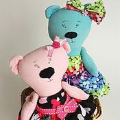 Куклы и игрушки ручной работы. Ярмарка Мастеров - ручная работа Разноцветные МИ-мишки. Handmade.