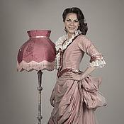 Одежда ручной работы. Ярмарка Мастеров - ручная работа Турнюр платье историческое. Handmade.