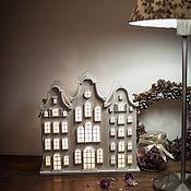 Для дома и интерьера handmade. Livemaster - original item Old.  Vintage lamp-house. Night light in the style of shebbi-chic. Handmade.