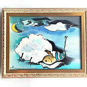 """Для дома и интерьера ручной работы. Ярмарка Мастеров - ручная работа Панно """"Бяшик"""", """"Любофф"""". Handmade."""