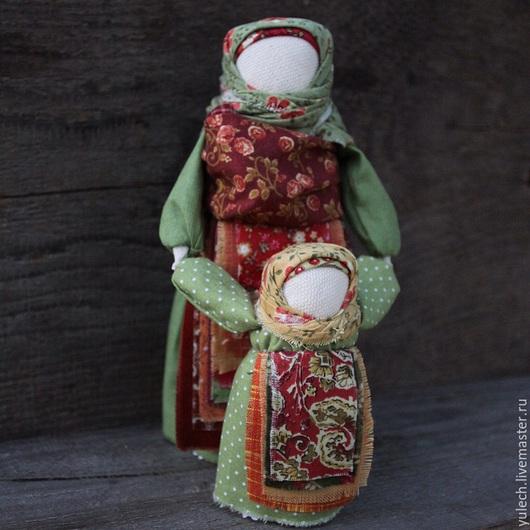 """Народные куклы ручной работы. Ярмарка Мастеров - ручная работа. Купить Куколка-мамушка-ведучка """"Осенние"""". Handmade. Разноцветный"""