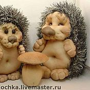 """Куклы и игрушки ручной работы. Ярмарка Мастеров - ручная работа """"Ежик"""" текстильная игрушка. Handmade."""