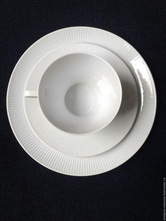 Винтажная посуда. Ярмарка Мастеров - ручная работа. Купить Кофейный старинный сервиз Seltmann Monika. Handmade. Белый, фарфоровый сервиз
