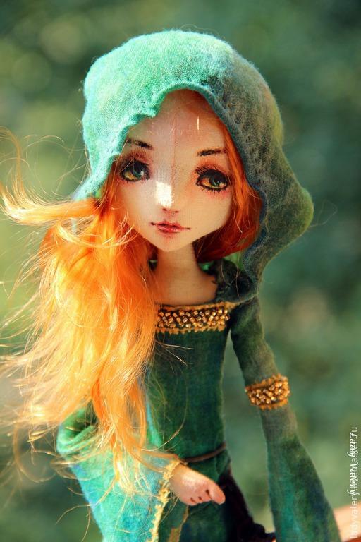 Коллекционные куклы ручной работы. Ярмарка Мастеров - ручная работа. Купить Рыжий Эльф. Handmade. Кукла ручной работы