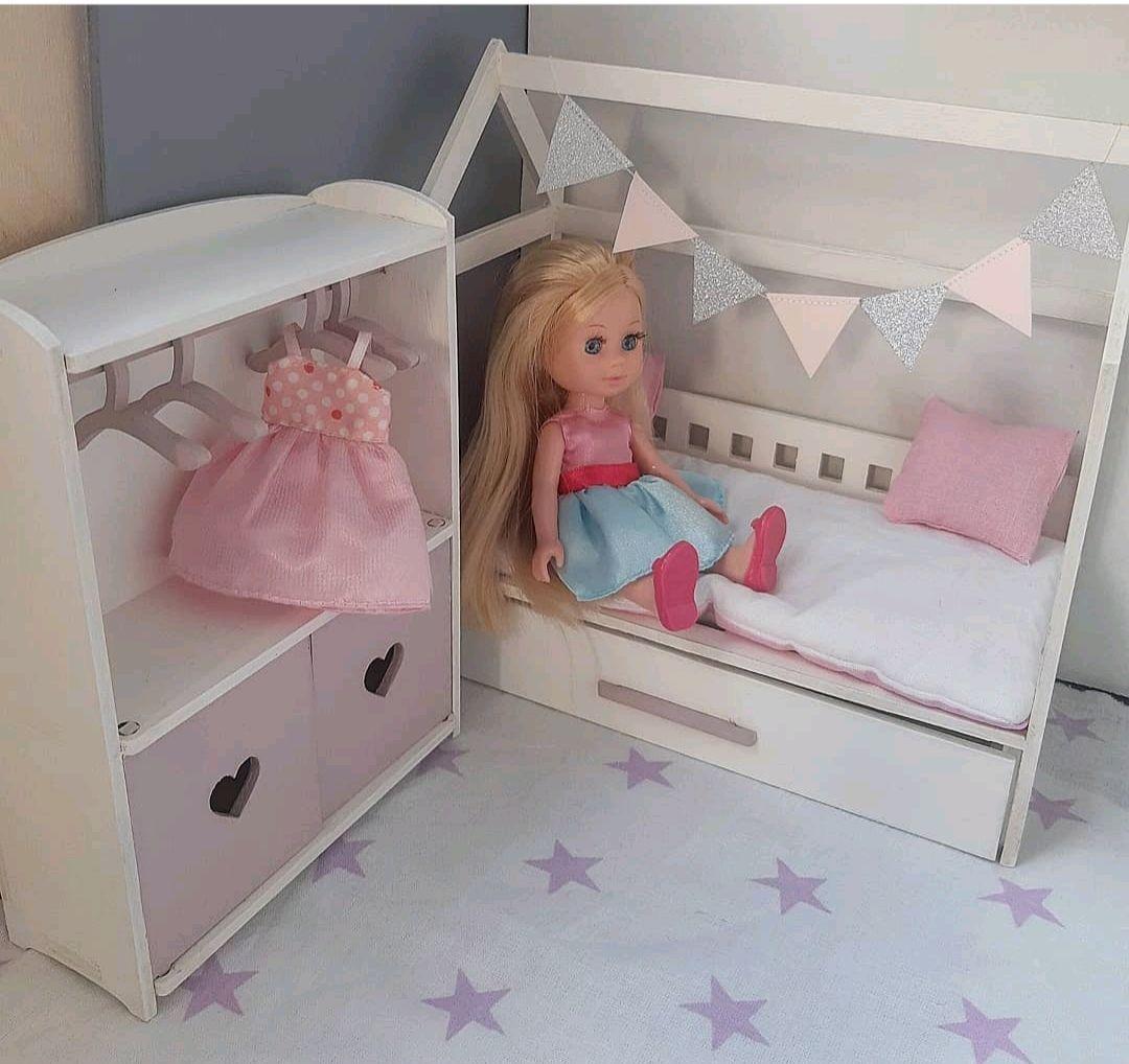 Мебель для кукол. Кровать, шкаф и домик - палатка для кукол, Мебель для кукол, Хабаровск,  Фото №1
