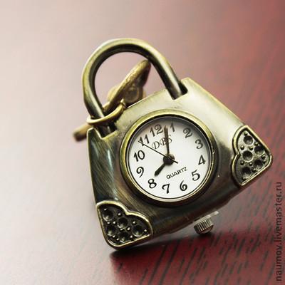Для украшений ручной работы. Ярмарка Мастеров - ручная работа. Купить Часы брелок Сумочка. Handmade. Часы, для украшений